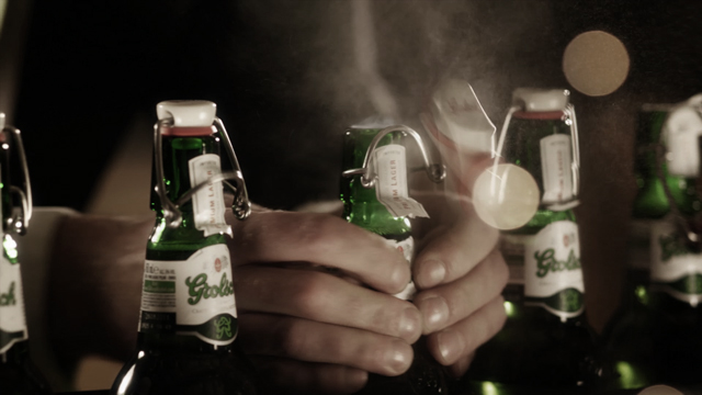Grolsch Bottle Pop
